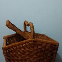 harga Keranjang piknik rotan ukuran M Tokopedia.com