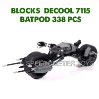 Jual Blocks Murah (lego) Decool 7115 Batpod   Mainan Edukasi Anak Murah