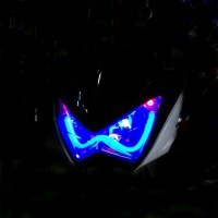 harga Batok Lampu Reflektor Z 250 Drl Led Alis|reflektor Ninja Z250 Alis Drl Tokopedia.com