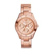 Jam Tangan Fossil Stella ES3815 Rose Gold Original