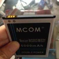 harga Baterai  Nexian Wg003 Helios Mi531 5000mah Dobel Power Mcom Tokopedia.com