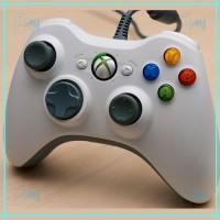 Wired Xbox 360 Controller / Stik / Stick Kabel Xbox360 Putih / White