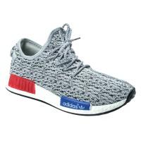 harga Sepatu Running Sport Adidas NMD Yeezy Boost Men Abu Hitams Tokopedia.com