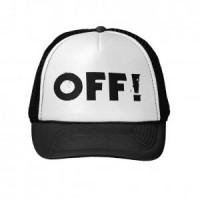 HAT-TOPI TRUCKER CUSTOM OFF ! 1.3 - BLACK WHITE