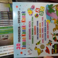 CD ANAK ANAK : 30 LAGU TK INDONESIA-ENGLISH