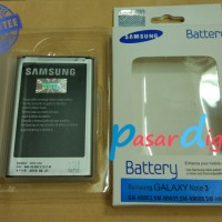 Batre Baterai Battery Samsung Galaxy Note 3 Original 100%