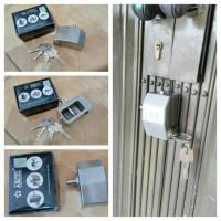 harga GEMBOK RUKO FOLDING GATE ARCEL708 STAINLESS STEEL Tokopedia.com