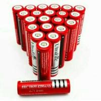 Batrai / Batere / Batre Charger Ultrafire 18650 4200 Mah Merah