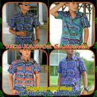 Kemeja HEM EXCLUSIVE Pria Modern Batik SANDIAGA LIMITED EDITION