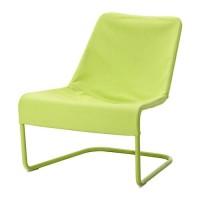 IKEA LOCKSTA Kursi Malas / Santai - Hijau Berkualitas
