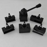 quick change tool post untuk c2 mini lathe 250-000 wedge piston