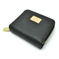 Dompet Wanita Leather Small Bag - Black