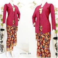 Kebaya Rok Blouse Batik Prada