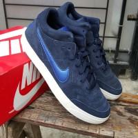 Sepatu Nike NSW Tiempo Trainer Mid suede Royal ivory BNIB original