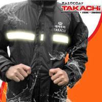 Jas Hujan Berkualitas merk TAKACHI Japan Premium Black