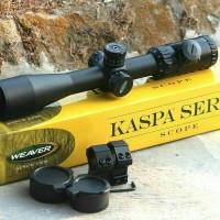 TELE SCOPE Weaver Kaspa 3-12x44 SFIR