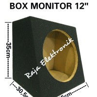 BOX SUBWOOFER / SPEAKER MONITOR 12 inch