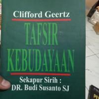 Tafsir dan Kebudayaan-Clifford Geertz