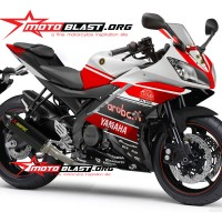 Decal stiker Yamaha R15 - Ducati Aruba IT WSBK Ver 2