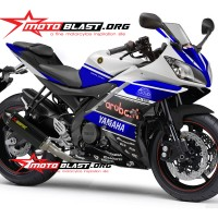 Decal stiker Yamaha R15 - Ducati Aruba IT WSBK Ver 6