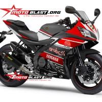 Decal stiker Yamaha R15 - Ducati Aruba IT WSBK Ver 4
