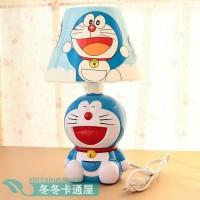 Lampu tidur USB port body karakter Doraemon Hello kitty