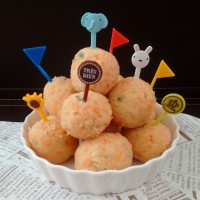 Jual PIZZA BALLS_100k. CHEESE BALLS. HOME MADE NUGGET BALLS. FROZEN NUGGET Murah