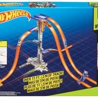 Mattel - Hot Wheels Track Builder 5-Lane Tower Set