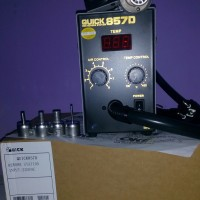 harga Solder Uap Quick 857D (Blower ORI - Digital) Tokopedia.com