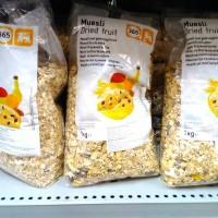 Muesli Dried Fruit / Oat dengan buah kering