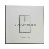 Saklar Engkel Hotel Lampu Panasonic Style Silver Mini
