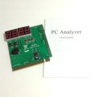 MOTHERBOARD TESTING CARD PCI 4 LED GREEN + MANUAL BOOK