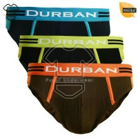 Celana dalam pria DURBAN 582 isi 3 bahan MODAL (serat daun)