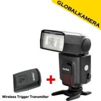 Godox TT520 II + Wireless Triger (Universal Speedlite Flash)