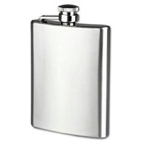 Jual Botol Minum Wine Bir Flask Hip Square Shape Stainless Steel 8oz Murah