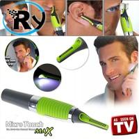 Pisau Cukur Rambut Micro Touch Magic Max Hair Groomer - Green