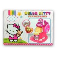 Mainan Anak Hello Kitty Ice Cream Maker - Pembuat Ice Cream
