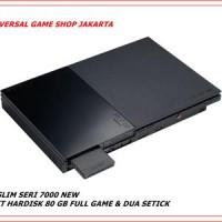 harga Ps2 Slim Hardisk Seri 7000 Paket Hdd 80gb Full Game & Dua Stick Ps2 Tokopedia.com