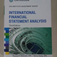 Jual International Financial Statement Analysis 3ed (Hardcover) Murah