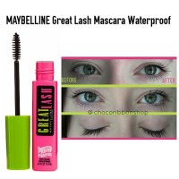 MAYBELLINE Great Lash Mascara waterproof very black 100%ORIGINAL