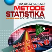 Dasar-Dasar Metode Statistika Untuk Penelitian, Maman Abdurahman