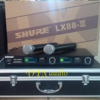 mic wireless SHURE LX88-III