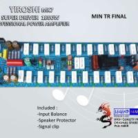 Yiroshi mk7 Super Driver 1800 W Professional Power Amplifier -TR