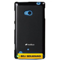 MELKCO Case Poly Jacket Nokia Lumia 720 - Black HARGA MURAH