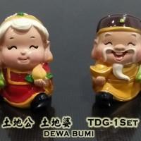 harga Patung Budha Dewa Bumi (Tu Di Gong) Mini Tokopedia.com