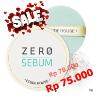 Jual Etude Zero Sebum Drying Powder 6 gram Murah