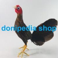 Miniatur / Boneka Ayam Betina / Miniature Babon ~ Pajangan Unik Lucu