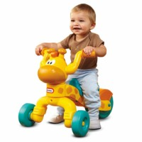 [GL469] Little Tikes Grow and Go Lil Rolling Giraffe