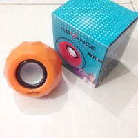 Speaker Portable Advance Diamond Bulat A40