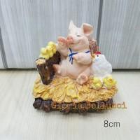 PATUNG PAJANGAN BABI TERNAK AYAM PIG PIGGY